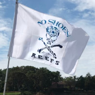 No Shoes Reef Flag